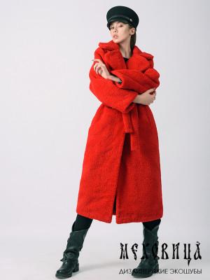 Меховое пальто RED из экоме...
