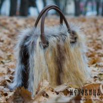 Меховая сумочка – тренд сезона 2015-2016