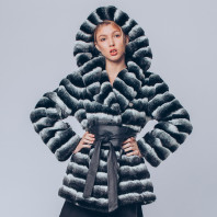 Меховая куртка из искусственного меха Tissavel под шиншиллу