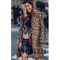 Леопардовая экошуба. Как носить, с чем сочетать – 50 образов
